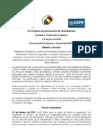 XIX Congreso de Colombianistas