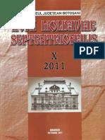 Acta Moldaviae Septentrionalis X 2011