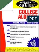 Schaum's Outline College Algebra