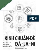 Kinh Chuan de Da La Ni