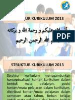 03. Stuktur Kuruikulum 2013 Edit