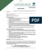 Microsoft Word - CFO Job Ad 19082014