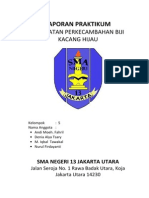 Laporan Praktikum Perkecambahan Kacang Hijau Kelompok Nurulf