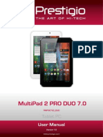 Manual Tableta Prestigio PMP5670C DUO