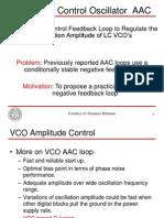 LC VCO Control