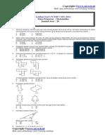Latihan Soal Matematika UNAS SMP/MTS 2012