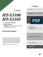 Ht-s3100 Manual e