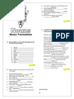 Nouns Formation 2013