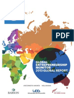 Global Entrepreneurship Monitor 2013
