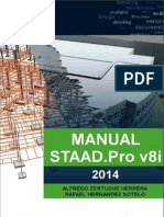 STAAD.pro V8i Manual 2014