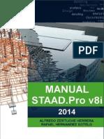 STAAD.pro V8i Manual 2014
