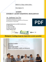 STREAM 1-Energy Auditing Existing Buildings (Ar. Anthony Lee)