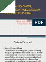 Perbedaan Ekonomi, Politik, Dan Hukum Dalam