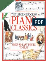 The Usborne Book of Piano Classics