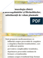Anticoagulante Fibrinolitice Anul v 2013