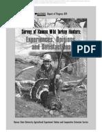 Survey of Kansas Wild Turkey Hunters