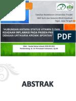 Presentasi Jurnal Hubungan Antara Status Vitamin d