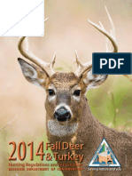 Fall Deer and Turkey Hunting Regulations and Information