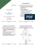 Topic 11 - Pass Transistor Logic