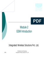 Module4-Cellular Overview - GSM