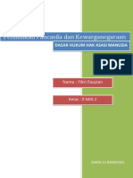 Dasar Hukum Ham menurut UUD, UU, Ketetapan MPR, dan Hukum Internasional