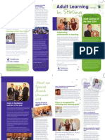 Adult Learning Newsletter Aug 2014