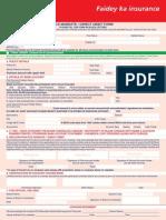 Auto Premium Form