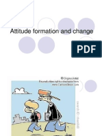 Attitude Formation and Change
