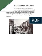 Earthquake in Kefalonia