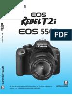 Manual Canon EOS 550D - Canon EOS Rebel T2i (Esp)