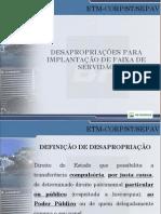 Desapropriações Para Implantação de Faixa de Servidão Jorge Dumaresq
