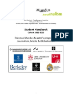 General Handbook JMG Cohort 2013-15