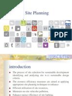 Site Planning 3