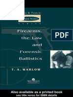 Firearms Law Forensic Ballistics