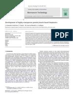 Gutierrrez_2009_Development of Highly-transparent Protein Starch-based Bioplastics