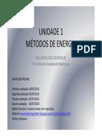 Unidade 1 Metodos de Energia