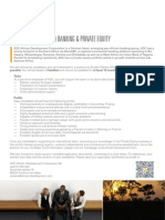 Adc Ag Student Trainee Fm Banking Private Equity