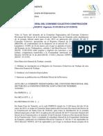 Calendario Laboral Del Convenio Colectivo Construcción Bop 19-04-20131