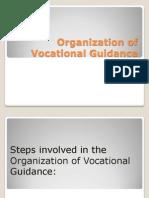 Organization of Vocational Guidance 2