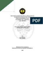 Pengaruh Supervisi Kepala Sekolah & Kp