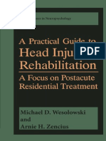 A Practical Guide to Head Injury Rehabilitation by Michael (Dec 31, 2013)