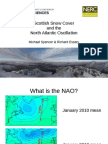 Scottish snow cover and the North Atlantic Oscillation