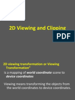 2dviewing and clipping