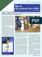 H2S Leading Toxic Killer