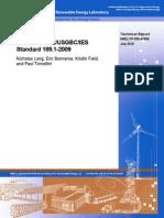 Erep Evaluation of Ansi Ashrae Usgbc Ies Standard 189.1 2009, Doe