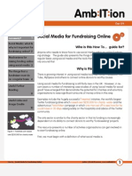 How to... Social Media for Fundraising Online