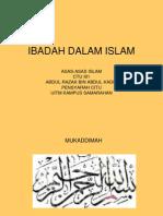 ctu 101 ibadah dalam islam