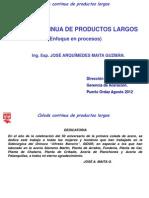 Curso de Colada Continua Productos Largos 09-10-12