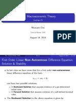Compulsory Macro Lecture 9