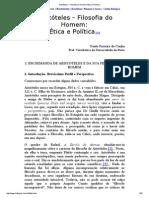 Aristóteles - Filosofia Do Homem_ Ética e Política [Imprimir]